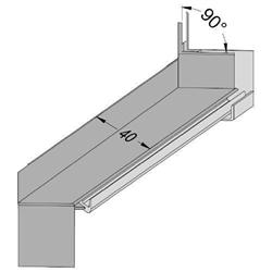 Schaufenster 120 cm B/ügelgreifer aus Metall Aufh/ängehilfe zum Aufh/ängen von Bekleidung im Schrank